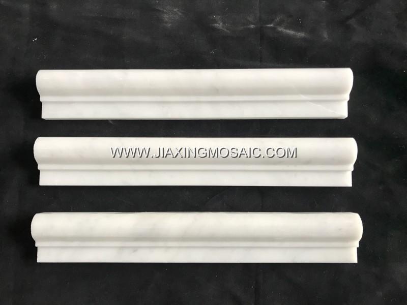 Carrara White Trims & Moldings