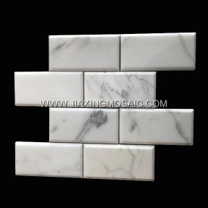 Bevel Edge Bianco Carrara White 2
