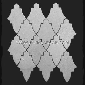 New Design Cinderella Grey Marble Mosaic Tile