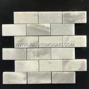 XueLian White Bricks Mosaic Tile