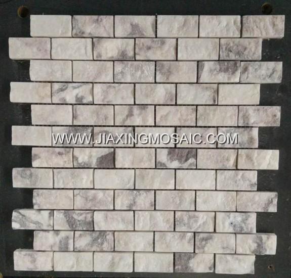 Violet Bricks Marble Mosaic