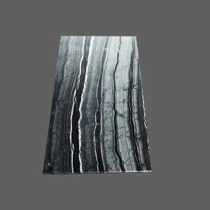 Zebrano Black Marble Tile
