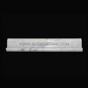 Bianco Carrara Chair Rail Trim Tile Marble Stone Moulding