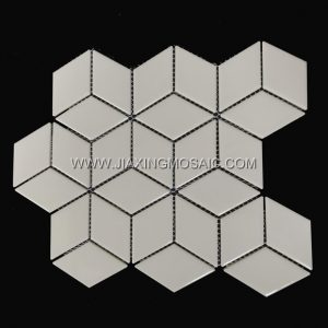 Light Grey Cubic Porcelain Tile