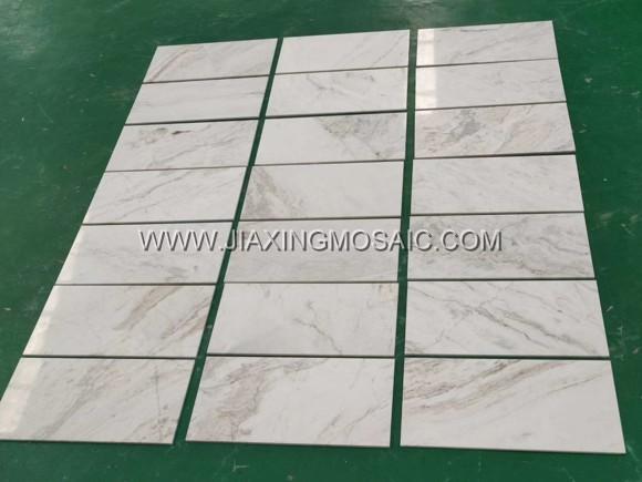 Castro White Marble Tile