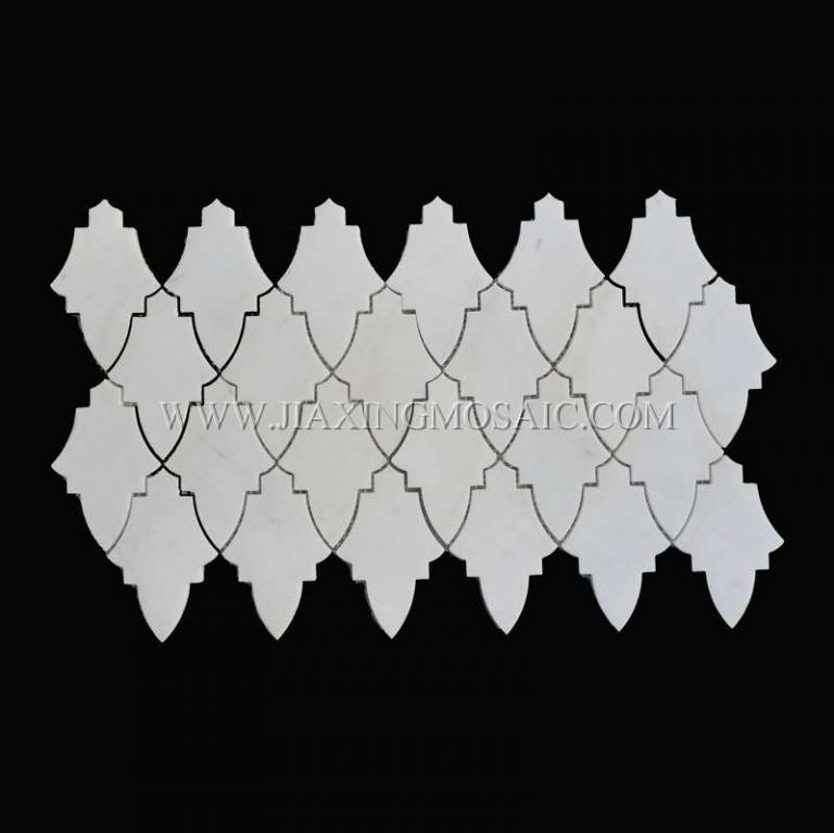 New Design Oriental White Marble Mosaic Tile